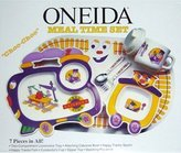 Oneida Choo-Choo Meal Time Set 7 piece meal set - Train Theme