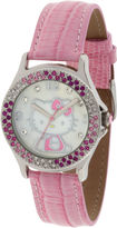 Hello Kitty Pink Crystal-Accent Watch