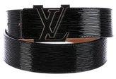 Louis Vuitton Epi Electric Initiales 40MM Belt