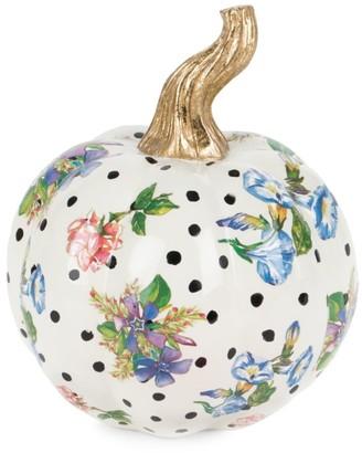 Mackenzie Childs Mini Flower Market Pumpkin