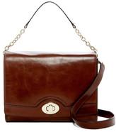 Cole Haan Vintage V Leather Crossbody Bag