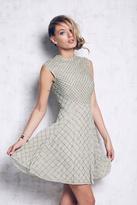 Needle & Thread Womens CIRCLE MESH DRESS