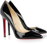 Pigalle 120 patent-leather pumps