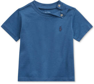 Polo Ralph Lauren Baby Boys Cotton Jersey Crewneck T-Shirt
