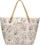Petunia Pickle Bottom Sketchbook Mickey & Minnie Downtown Tote