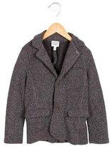 Armani Junior Boys' Knit Notch-Lapel Jacket