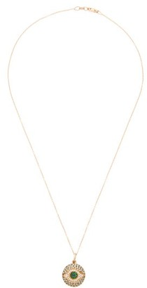Ileana Makri Dawn Eye Diamond, Sapphire & 18kt Gold Necklace - Crystal