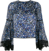 Alice + Olivia Alice+Olivia Cloudy Night blouse