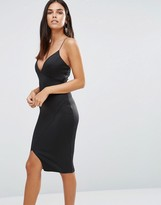 AX Paris Asymmetric Wrap Bodycon Cami Dress
