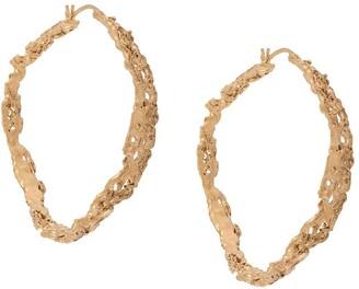 LOVENESS LEE Rebutia Large Hoop earrings