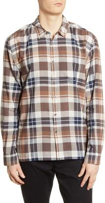 Baldwin Harrison Slim Fit Plaid Button-Up Shirt