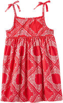 Osh Kosh Oshkosh Sleeveless Bandana Dress - Toddler Girls