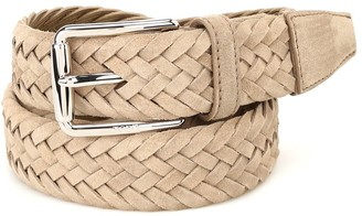 Tod's Braided Buckle Belt