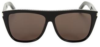 Saint Laurent 59MM Studded Square Sunglasses