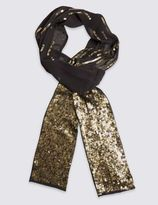 Marks and Spencer Sequin Embellished Scarf