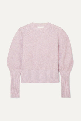 MUNTHE Knitted Sweater - Lilac