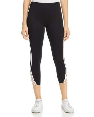 Lysse Clio Cropped Lace-Up Leggings