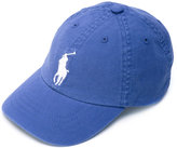 Ralph Lauren logo baseball cap - kids - Cotton/Spandex/Elastane - One Size