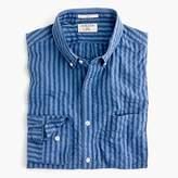 J.Crew Slim Albiate 1830 for washed shirt in indigo seersucker