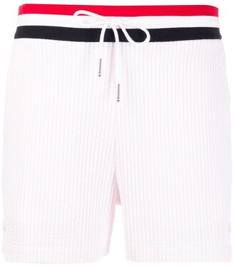 Thom Browne Ribbed Short Shorts