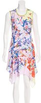 Clover Canyon Floral Print Asymmetrical Dress w/ Tags
