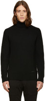 Belstaff Black Littlehurst Turtleneck