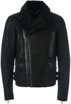 Belstaff off-centre zip jacket