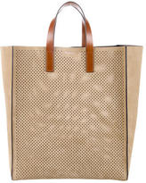 Michael Kors Eleanor Perforated Suede Tote