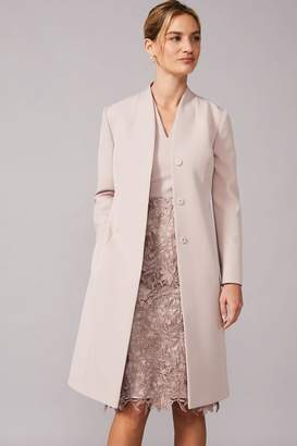 Phase Eight Womens Neutral Constanza Coat - Natural