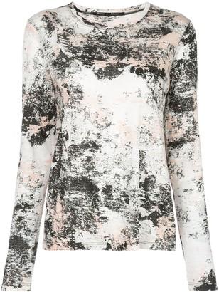 Proenza Schouler foil printed T-shirt