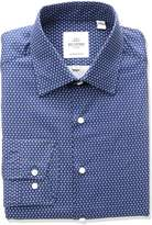 Ben Sherman Men's Floral Print Spread Collar Dress Shirt