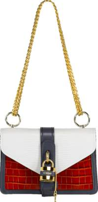 Chloé Aby Chain Colorblock Shoulder Bag