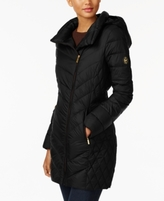 MICHAEL Michael Kors Petite Asymmetrical Packable Down Coat, Created for Macy's