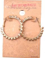 American Rag Cie Women's Studded Allover Hoop Earring