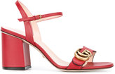 Gucci Marmont sandals - women - Calf Leather/Leather - 35