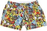 MC2 Saint Barth Pirates Printed Nylon Swim Shorts