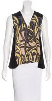 Yigal Azrouel Silk Sleeveless Top w/ Tags