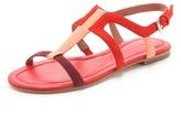 Sigerson Morrison Flat Suede Sandals