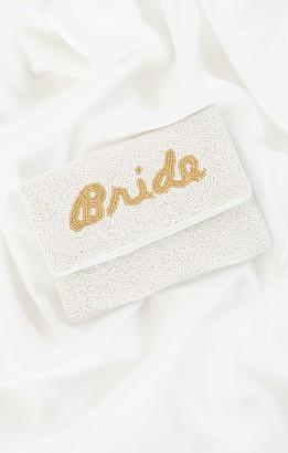Show Me Your Mumu Bride Beaded Clutch Bag