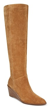 Vince Women's Marlow Over-the-Knee Wedge Heel Boots