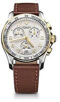 Victorinox Classic Chronograph Leather Watch