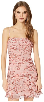 Bardot Remi Floral Dress (Floral Peach) Women's Clothing