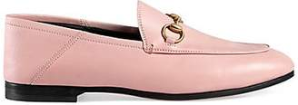 Gucci Women's Brixton Leather Loafers - Pink