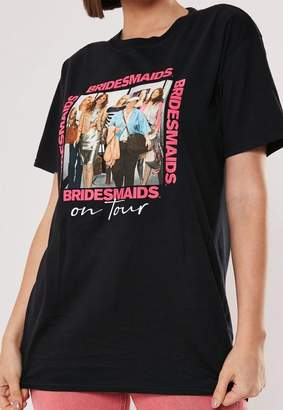 Missguided Bridesmaids Graphic T Shirt