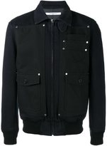Givenchy contrast panel denim jacket