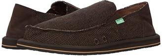 Sanuk Vagabond Tweed (Brown) Men's Shoes