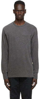 Aimé Leon Dore Black Washed Long Sleeve T-Shirt