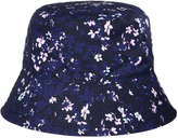 Joe Fresh Kid Girls' Reversible Bucket Hat, Purple (Size S/M)