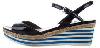 Prada Sport Platform Sandals