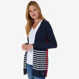 Nautica Breton Stripe Flyaway Cardigan
